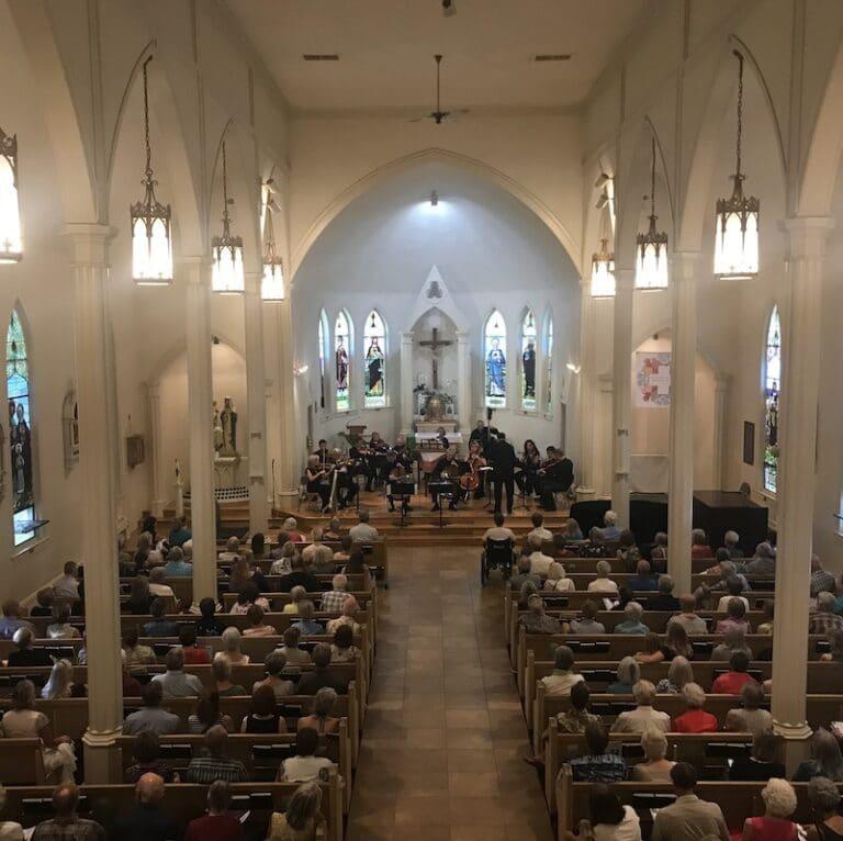 Chamber concert at St. Columba Catholic Church